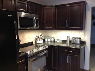 Shenandoah Breckenridge Cherry Java Kitchen - Contemporary - Kitchen - philadelphia - by Lowe's ...