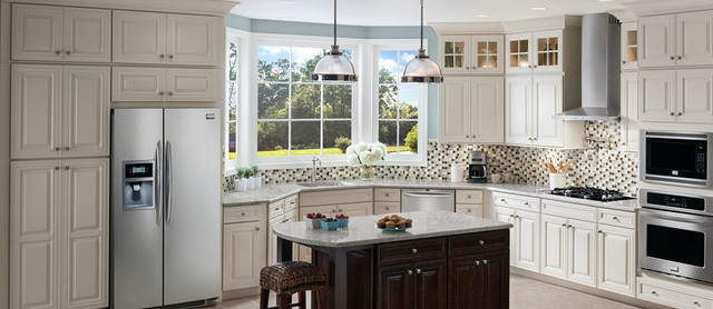 Shenandoah cabinetry kitchen los angeles by lowe s moreno