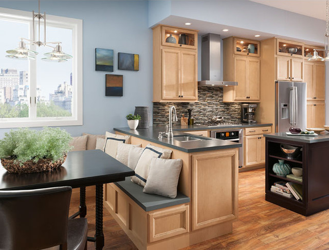 Shenandoah cabinetry contemporary kitchen seattle for Bedroom furniture 98383