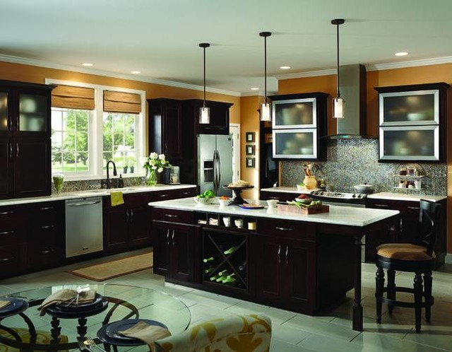 Shenandoah Cabinetry Contemporary Kitchen Seattle