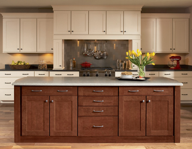 Shenandoah Cabinetry - Craftsman - Kitchen - other metro - by Lowe's of Silverdale, WA