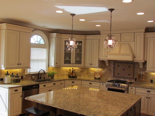 traditional kitchen charlotte by lowes of indian land sc