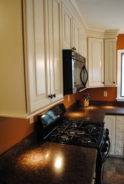 Shenandoah - Winchester Hazelnut Glaze traditional-kitchen