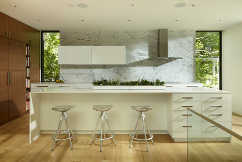 Contemporary Kitchen by Minneapolis Architects & Building Designers Peterssen/Keller Architecture