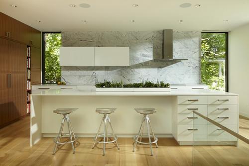 Contemporary Kitchen by Minneapolis Architects & Building Designers Peterssen/Keller Architecture