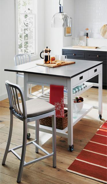 Sheridan White Kitchen Island Kitchen