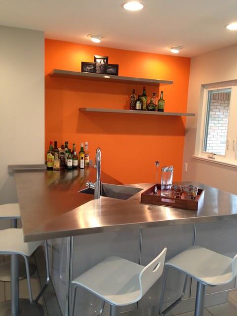sherwin williams contemporary kitchen - photo #16