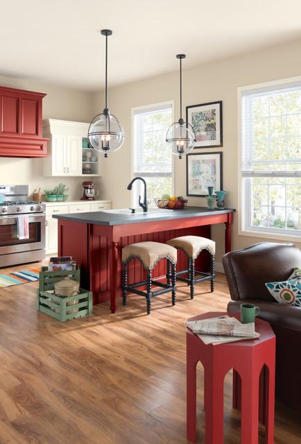 sherwin williams contemporary kitchen - photo #17