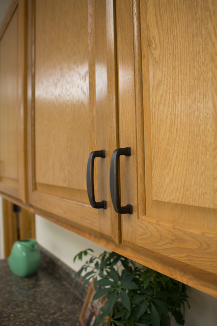 Sherwood Cabinet Pulls in Vintage Bronze - Traditional - Kitchen - by Stone Harbor Hardware