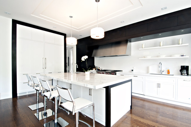 Sherwood Custom Homes contemporary-kitchen