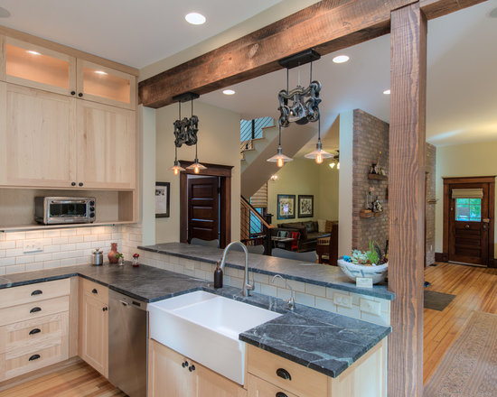 Pass-Through Kitchen Design Ideas, Remodels & Photos