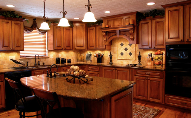 Superieur Sherwood Forest Quartz Countertops Traditional Kitchen