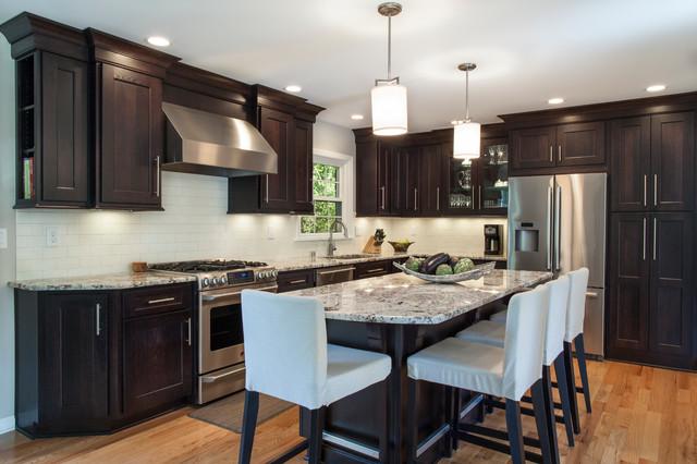 Shiloh Cabinetry - Transitional - Kitchen - kansas city - by Bath & Kitchen Company