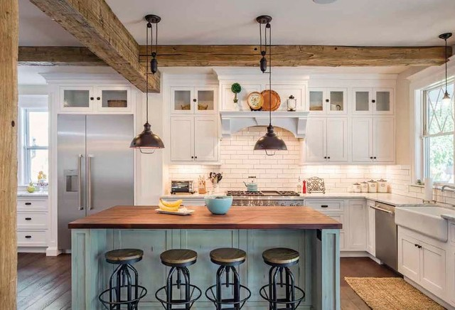 Shiloh Cabinetry - Farmhouse - Kitchen - Other - by Designs ...