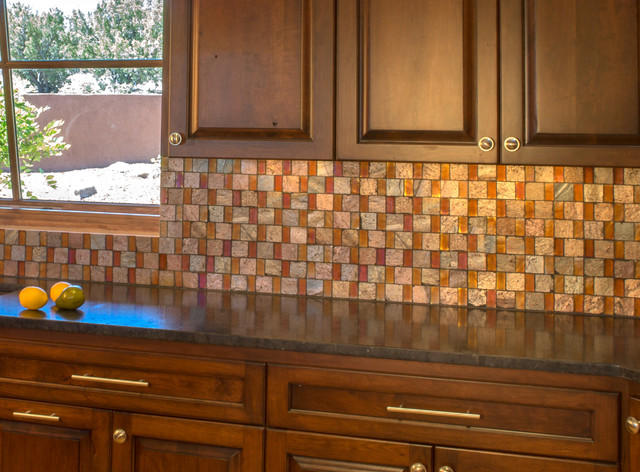 Shimmering Stone Santa Fe, NM - Craftsman - Kitchen - albuquerque - by STATEMENTS IN Tile ...
