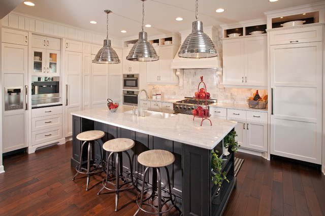 Shimon- Cuthbert Residence traditional-kitchen