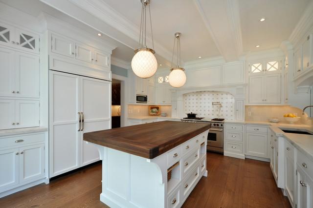 Shingle Style Home Victorian Kitchen