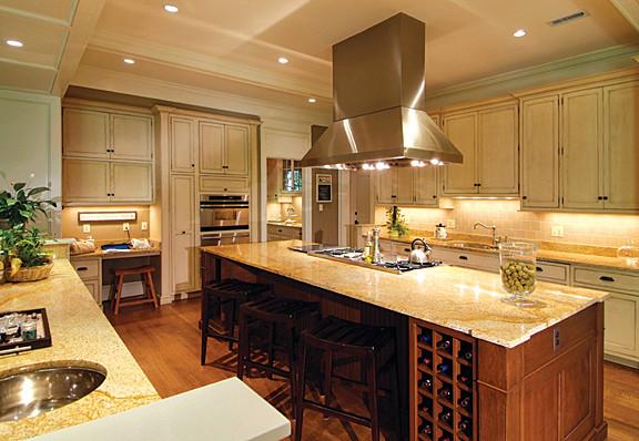 Shingled Home traditional-kitchen