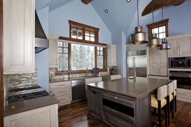 Shock Hill Mountain Home Contemporary Kitchen Denver By Abigail Elise Interiors Inc
