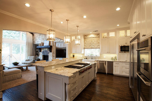 Love This Kitchen And Adjoining Family Room Can You Tell Me The Wall Paint Trim Colors Thanks