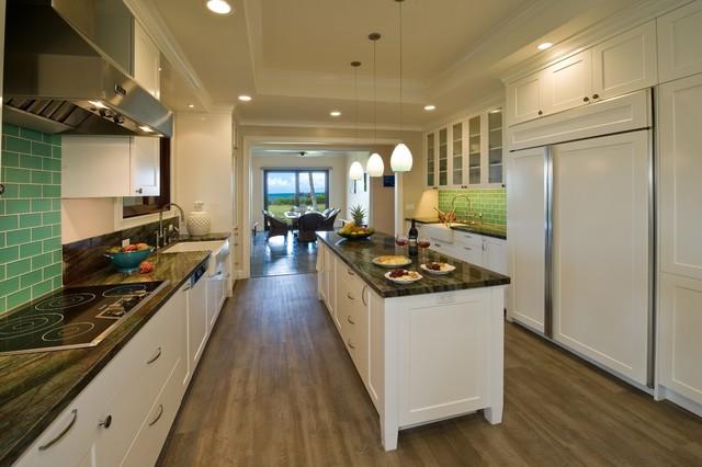 Shorebreak Tropical Kitchen Hawaii By Archipelago Hawaii Luxury Home Designs