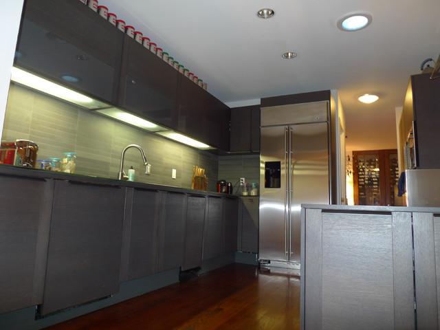 Shorecrest Renovation midcentury-kitchen