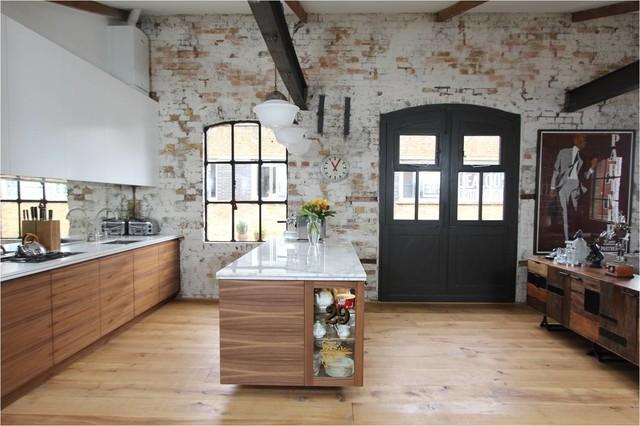 Shoreditch Warehouse industrial kitchen