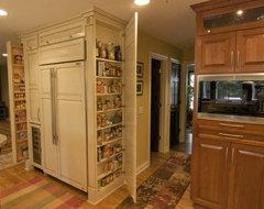 Shorewood kitchen storage traditional-kitchen