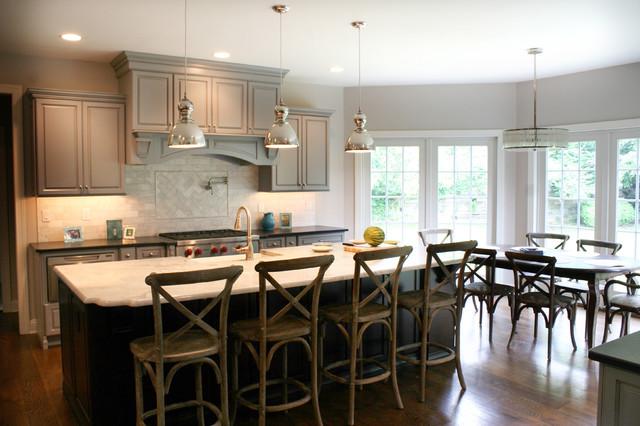 Short Hills traditional-kitchen