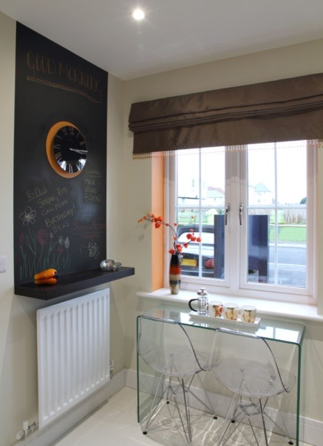 Show Home Kitchen Transitional Kitchen London By