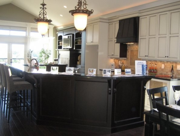 Show Homes contemporary-kitchen