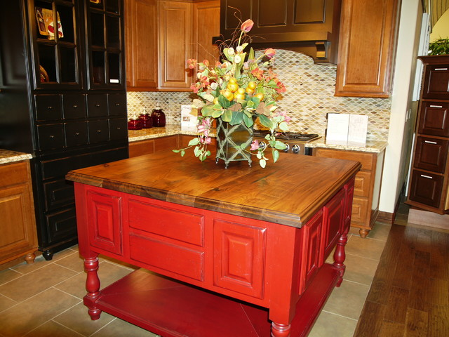 SHOW THE WORLD walnut kitchen-countertops