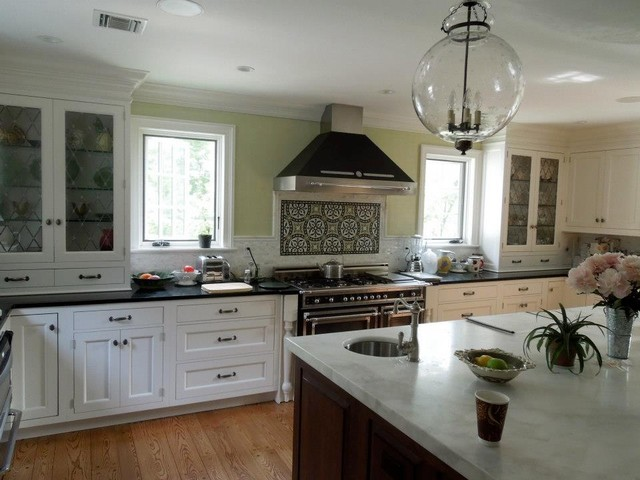 Showcase Home Traditional Kitchen Cabinetry New York