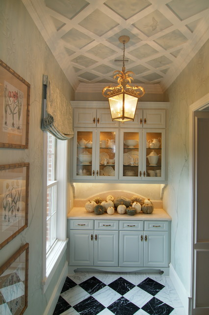 Showhouse Butler's Pantry traditional-kitchen
