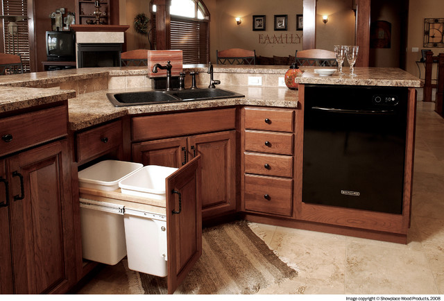 Beau Showplace Cabinets   KitchenTraditional Kitchen