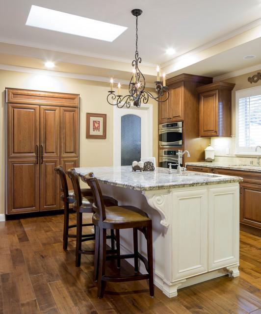Showplace Kitchen/Island/Desk Area
