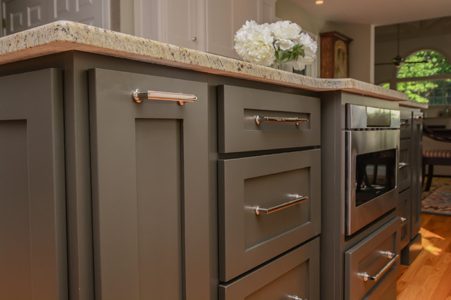 Showplace Two-Tone Kitchen - Transitional - Kitchen - Other ...