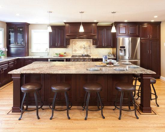Beige Granite Countertop Home Design Ideas Pictures Remodel And Decor