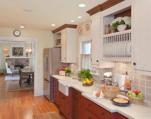 Unfitted Kitchen Design Ideas ~ Showplace wood unfitted kitchen traditional