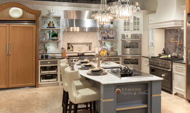 Showroom at Hahn Appliance - Transitional - Kitchen - Oklahoma City ...