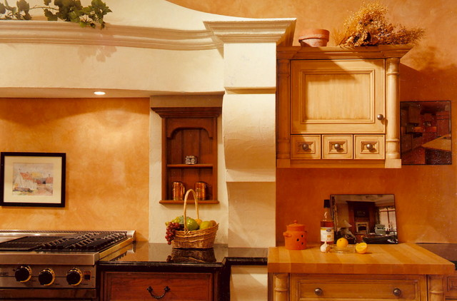 Showroom - Country French Canopy traditional-kitchen