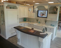 Showroom Display traditional kitchen
