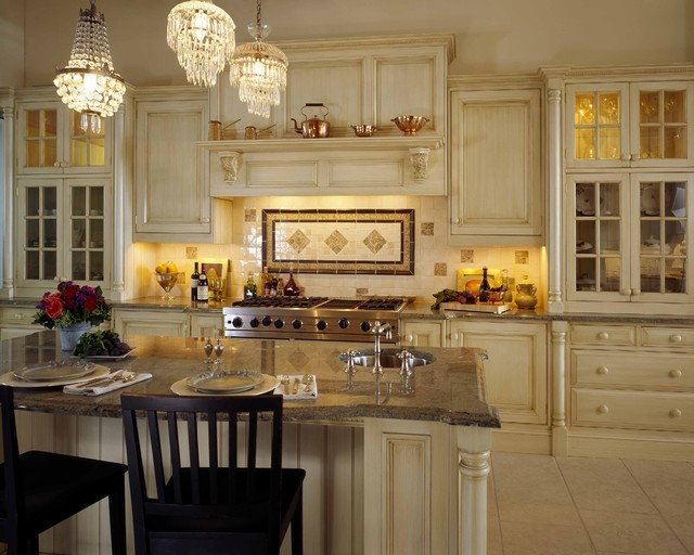 Showroom Dispay traditional kitchen