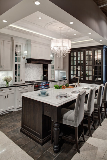 Showroom Kitchen Contemporary Kitchen Chicago By Airoom Architects Builders Remodelers