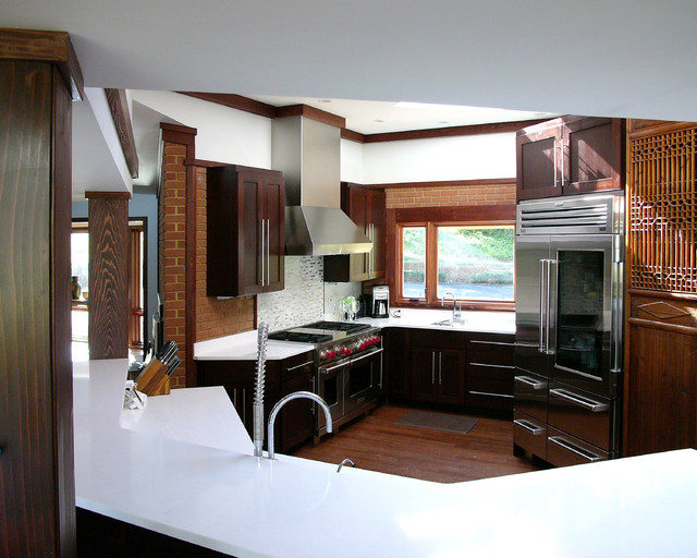 Siddons Residence contemporary-kitchen
