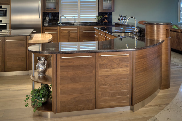 Side View Of Kitchen Contemporary Kitchen Other By Tampa Bay Millworks Home Design Center