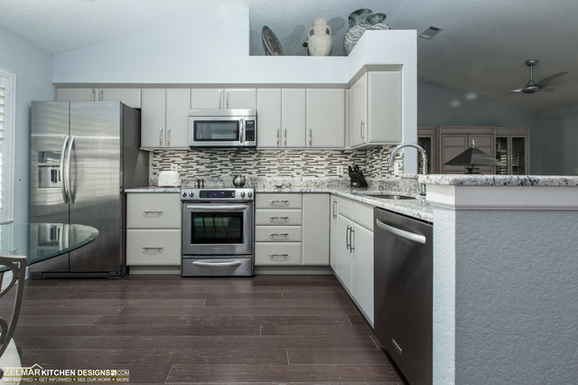 Siegel Cabico Zelmar Kitchen Remodel Contemporary Kitchen Orlando By Zelmar Kitchen