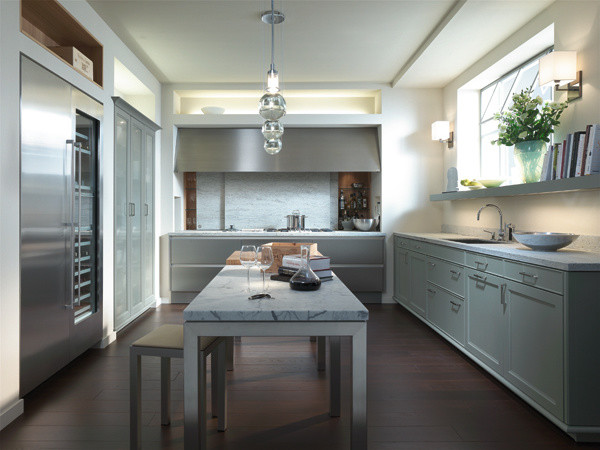 Siematic beaux arts contemporary kitchen for Siematic kitchen design