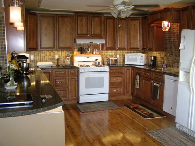 Sienna Rope Kitchen traditional kitchen