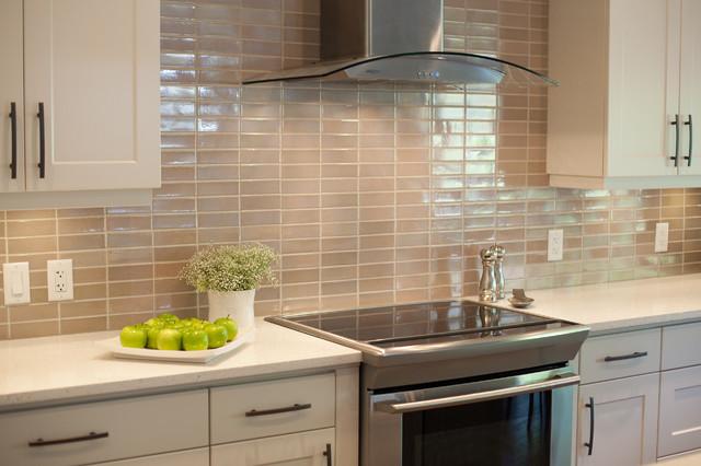 signal hill kitchen - back splash - modern - kitchen - calgary